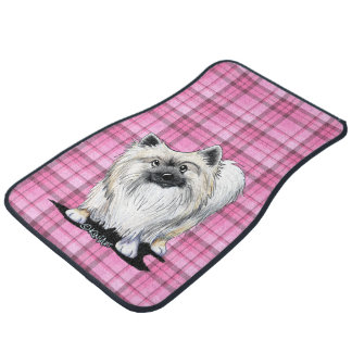 Sweet Chester Pink Plaid Car Mats