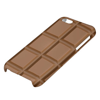 sweet chocolate iphone 5c glossy iPhone 5C cases