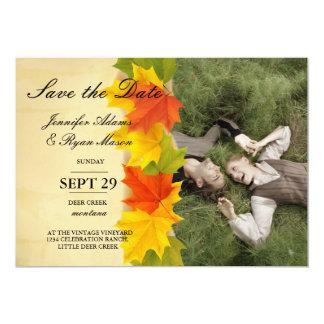 Sweet Couple Laying Grass /fall theme Card