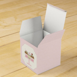 Sweet Cupcakes Favour Box