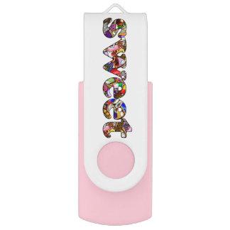"""""""Sweet"""" Dessert Text USB Flash Drive"""
