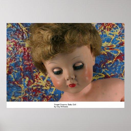 Sweet Dreams, Baby Doll Print
