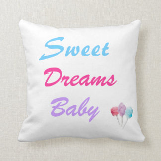 Sweet Dreams Baby, I Love You pillow. Cushion