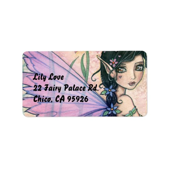 Sweet Fairy Address Labels