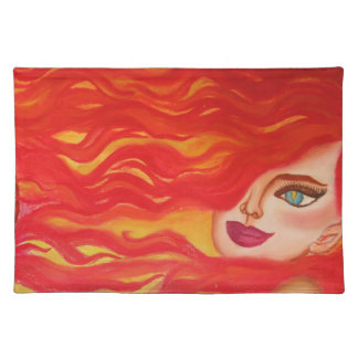 """Sweet Fire"" American MoJo Placemats"