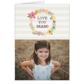 Sweet Floral Mother's Day Greeting Card