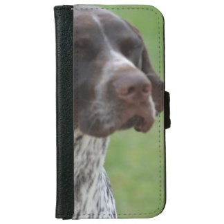 Sweet German Shorthaired Pointer iPhone 6 Wallet Case