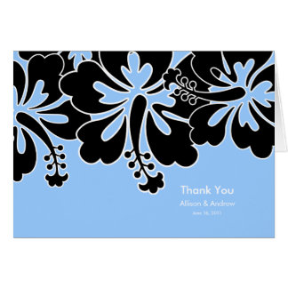 Sweet Hibiscus Thank You Card