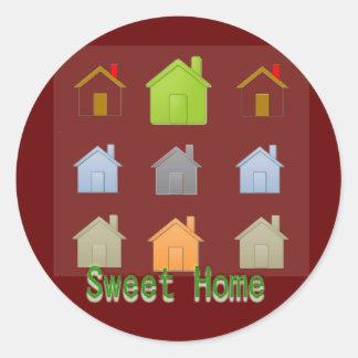 Sweet Home Sticker
