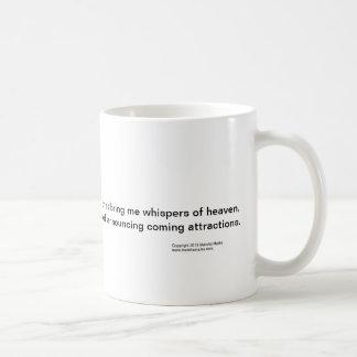 sweet inspiring mug about friendships from God.