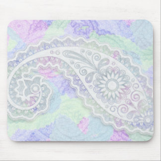 Sweet Lacey Paisley Mouse Mats