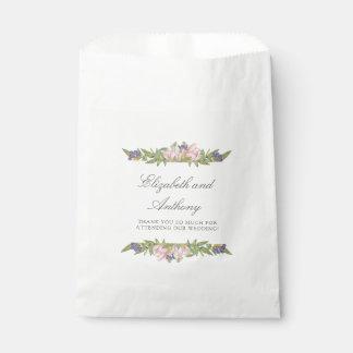 Sweet Magnolia Elegant Wedding Favor Bags