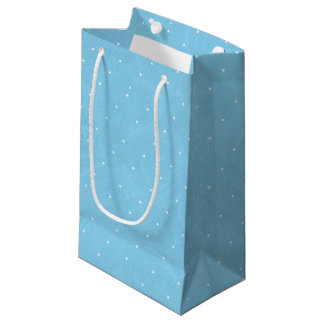 Sweet Pea Tea Birthday –Blue Small Gift Bag