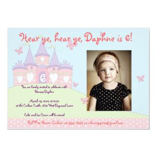 Sweet Princess Party invitation