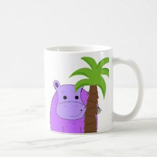 Sweet Purple Hippo Coffee Mug