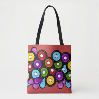 Sweet Record Celebration Tote Bag