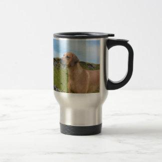 Sweet Rhodesian Ridgeback Dog Travel Mug