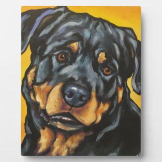 Sweet Rottweiler Plaque