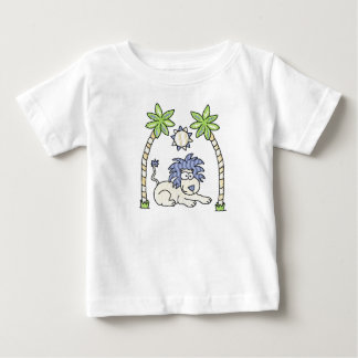 Sweet Safari Blue Lion Infant & Toddler Shirt