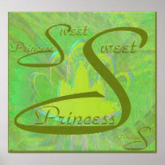 Sweet Sixteen Princess Poster - Customize