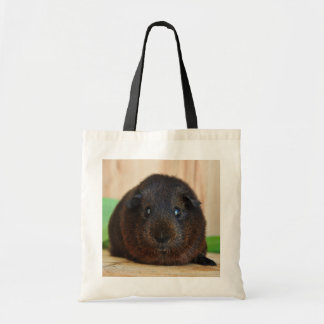 Sweet, Smooth, Golden Agouti Guinea Pig Budget Tote Bag