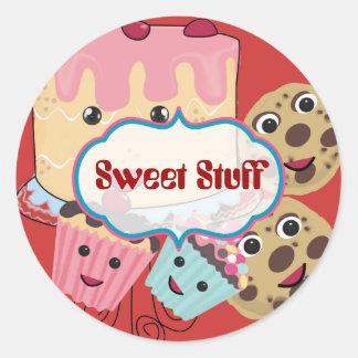 Sweet Stuff Cake Cookies and Cupcake Sticker