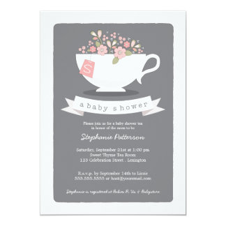 Browse Zazzle Tea Party invitations and customise with your own text, photos or designs.