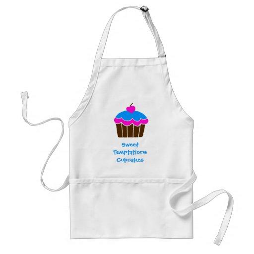 Sweet Temptations Cupcakes Apron
