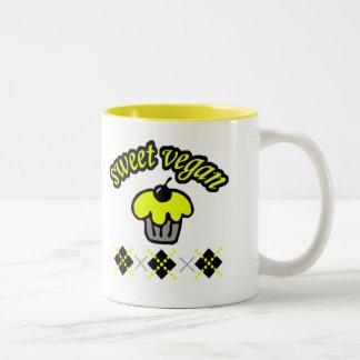 Sweet Vegan Two-Tone Coffee Mug