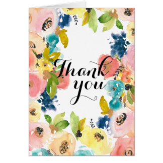 Thank you greeting cards from Zazzle