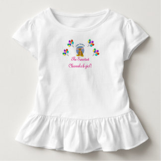 SWEETEST CHANUKAH OUTFIT ADORABLE JEWISH GIRL TODDLER T-Shirt