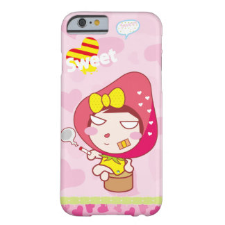 Sweetie Cute Strawberry Girl Barely There iPhone 6 Case