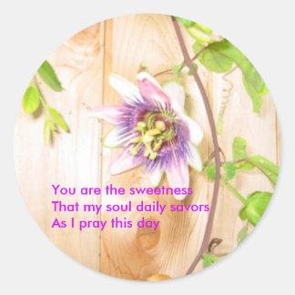 Sweetness Haiku sticker