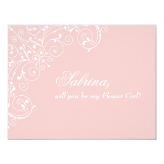 "Sweetness | ""Will you be Flower Girl"" Card"