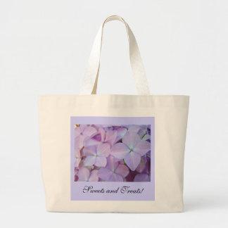 Sweets and Treats! Tote bag Purple Hydrangeas