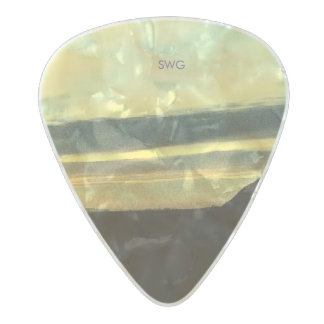 SWG 'Gorgeous' Guitar Pick Pearl Celluloid Guitar Pick