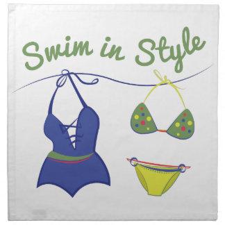 Swim Style Napkin