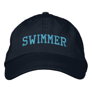 Swimmer Embroidered Hat