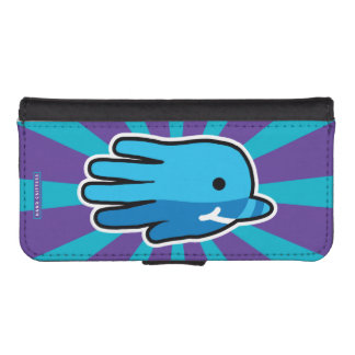 Swimming Baby Narwhal Whale iPhone SE/5/5s Wallet Case