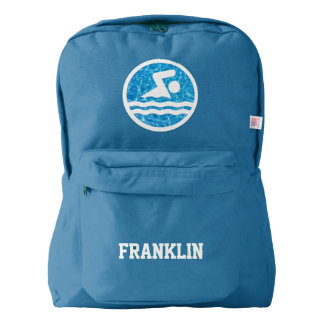 Swimming & Diving Custom Backpack for Swimmers