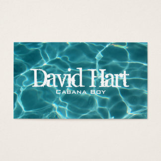 Swimming Pool Profile Card