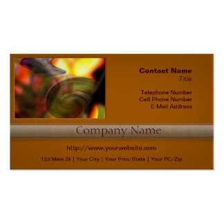 Swirling Abstract of Colors Pack Of Standard Business Cards