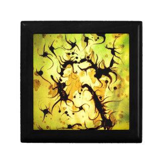 Swirling Coffee Art Design Gift Box