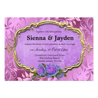 Swirls Roses Card