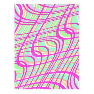 Swirly Check 2011 Postcard
