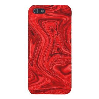 Swirrly Red Speck Case