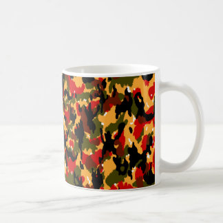 Swiss Alpenflage CAMO Basic White Mug