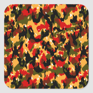 Swiss Alpenflage CAMO Square Sticker