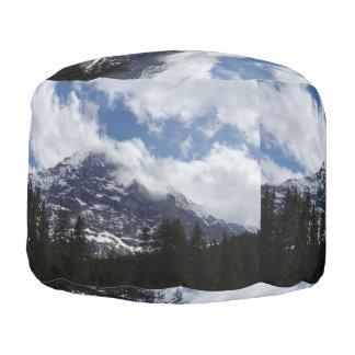 Swiss Alps Pouf