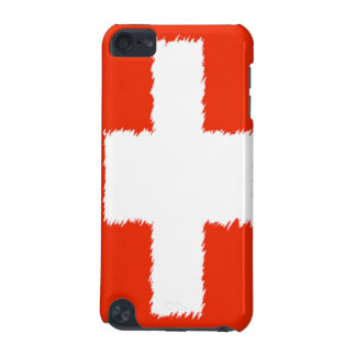 Swiss Flag iPod Touch (5th Generation) Cover